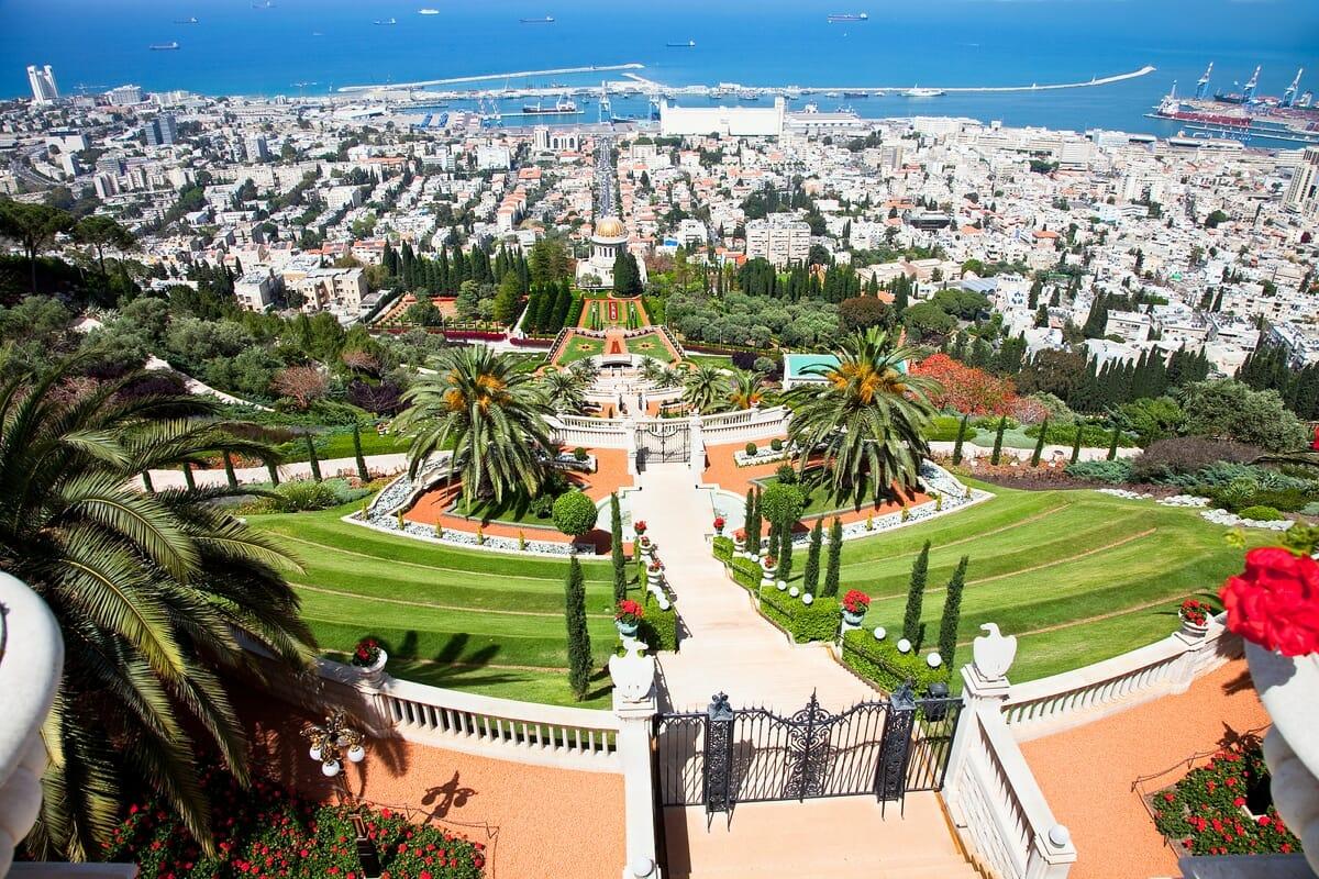 Israel Bahai-Gärten Haifa
