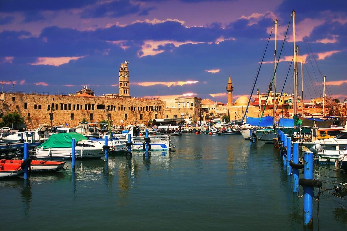 Israel Yachthafen Akko