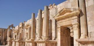 Jordanien antike Stätte von Jerash