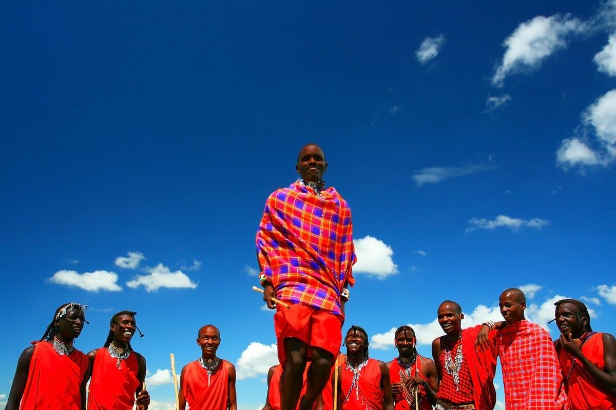 Massai begegnen mit Klüger Reisen