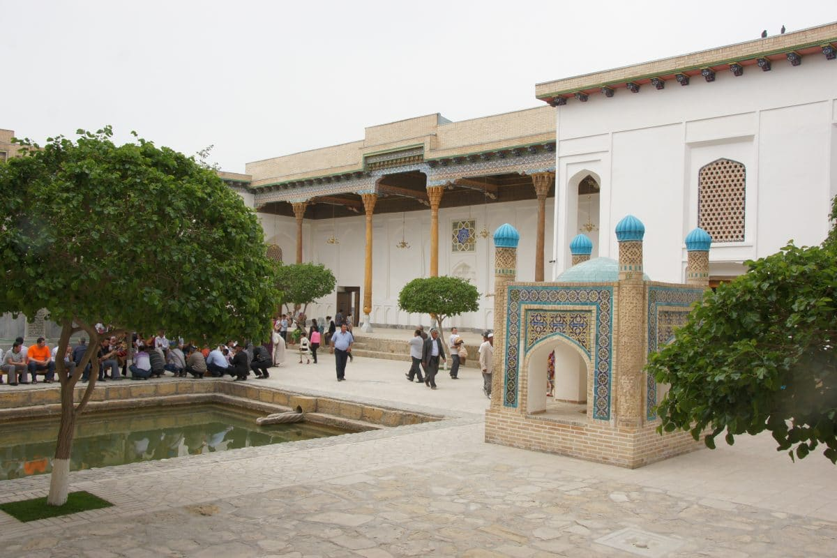 Naqschbandi Mausoleum in Buchara, Usbekistan
