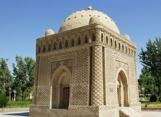 Samanida Grab in Buchara, Usbekistan