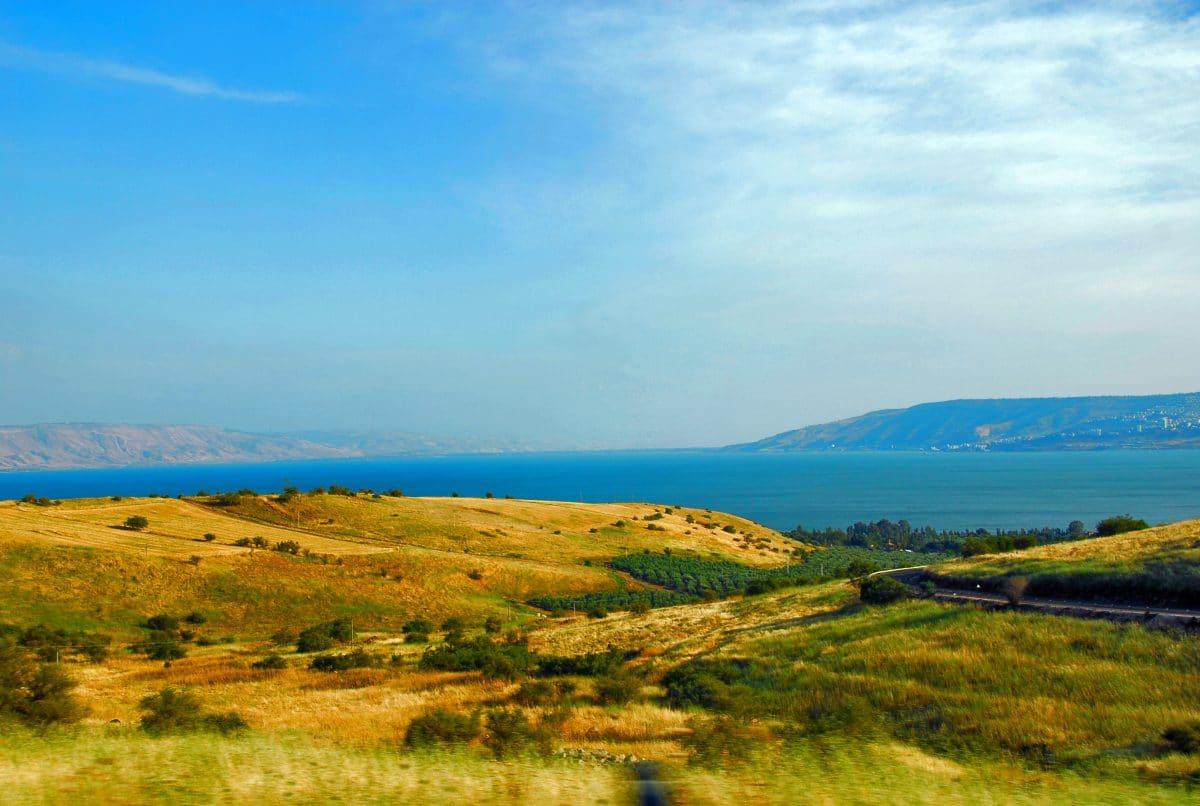 Israel Blick See Genezareth