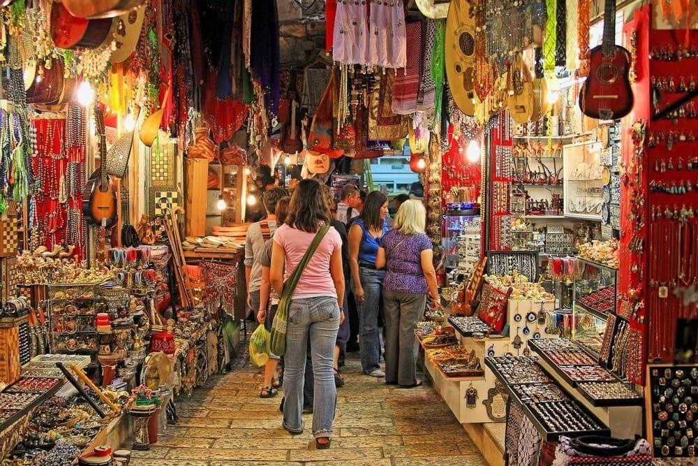 Jerusalem Souk mit Klüger Reisen