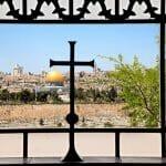 Israel Blick aus Kirche Ölberg