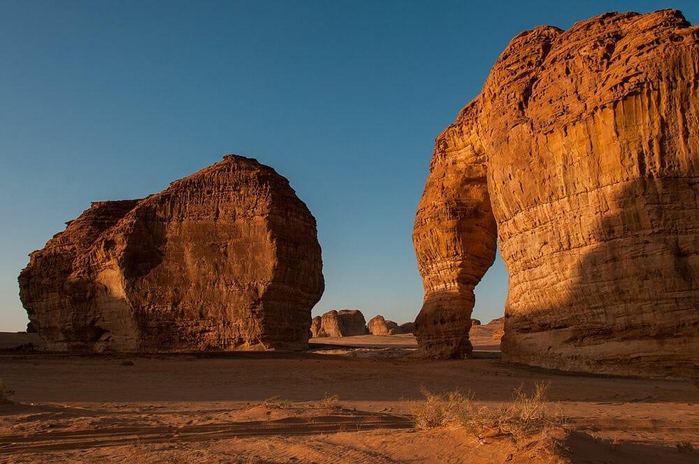 Elephant_Rock_Wueste_Saudi_Arabien_Klueger_Reisen